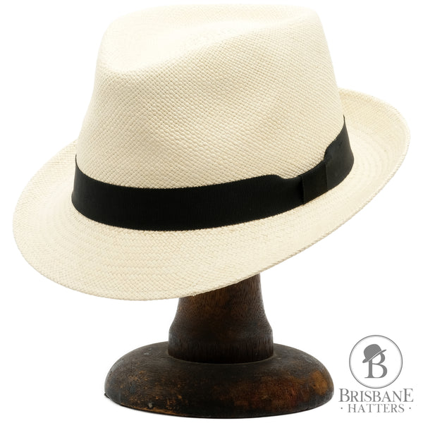 Camilo New Trilby Panama - Natural - Brisbane Hatters