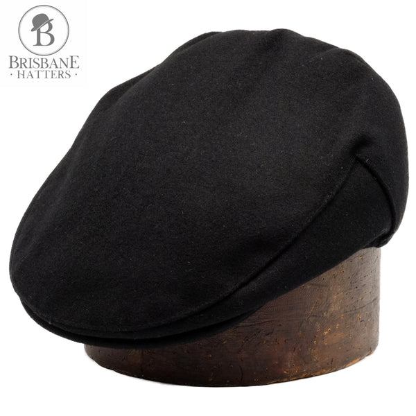 Failsworth Melton Wool - Black - Brisbane Hatters