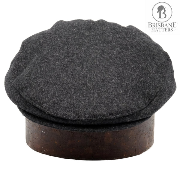 Failsworth Melton Wool - Grey - Brisbane Hatters