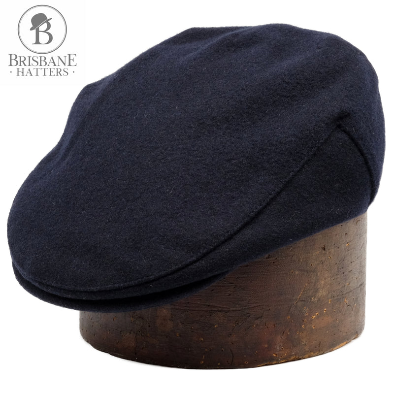 Failsworth Melton Wool - Navy - Brisbane Hatters