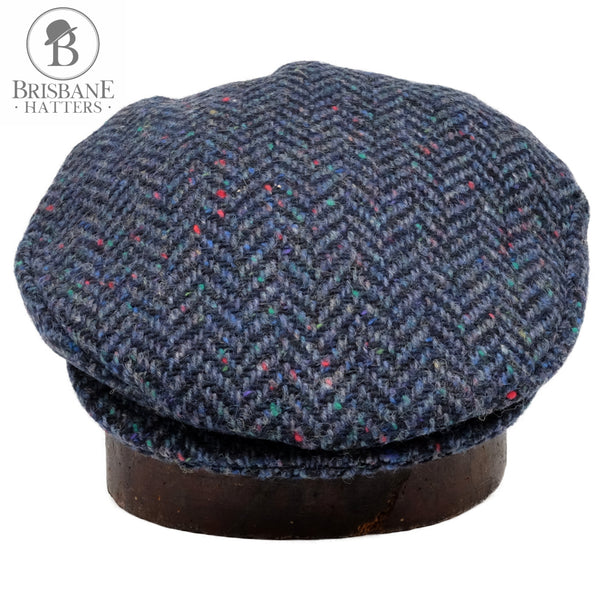 Hanna Vintage Tweed Cap - Royal