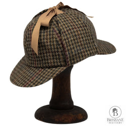 Hills Hats Wiltshire Tweed Deer Stalker - Brown - Brisbane Hatters