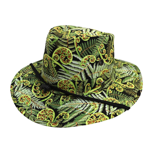 Hills Hats BAF Clancy hat in fern pattern