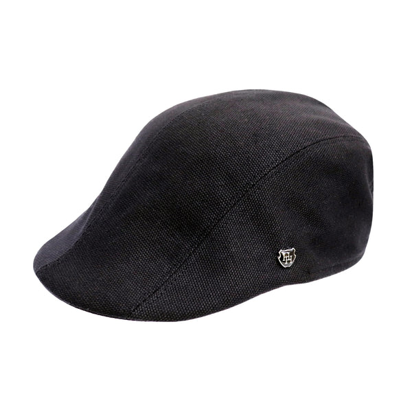 Hills Hats Denver Duckbill cap in Black