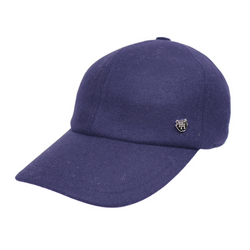 Hills Hats Wool Baseball Cap - Navy