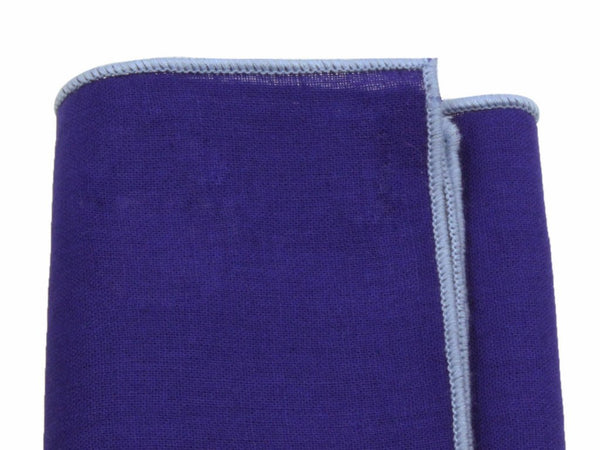 Pocket Square - Royal Blue Linen Blend