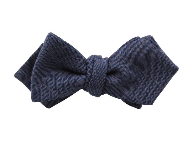 Bowtie - Navy Plaid Wool