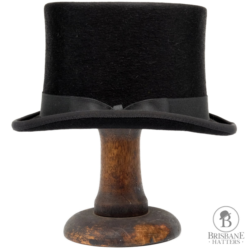 Kaminski Top Hat - Black - Brisbane Hatters