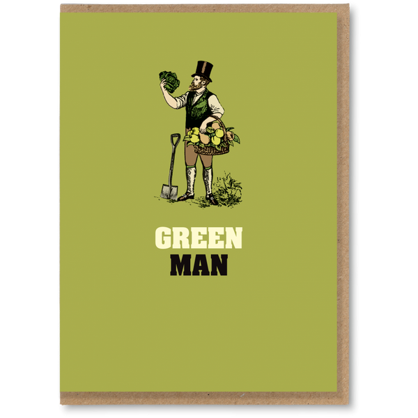 Greeting Card - Green Man