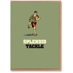 Greeting Card - Splendid Tackle