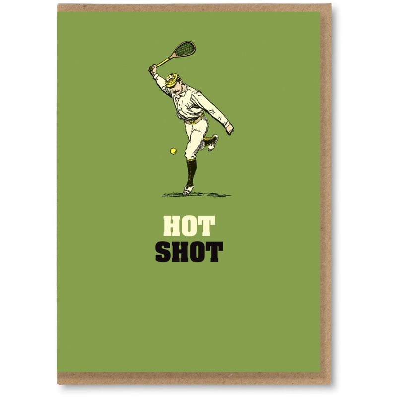 Greeting Card - Hot Shot