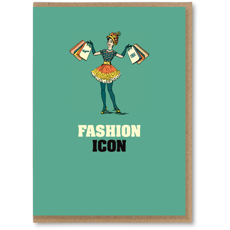 Greeting Card - Fashion Icon