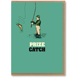 Greeting Card - Prize Catch