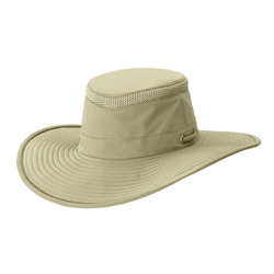 Angle view of Tilly LTM2 hat in Khaki / Olive