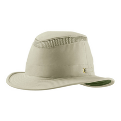 Angle view of Tilly LTM5 hat in Khaki / Olive