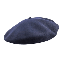 Laulhere Vrai Basque Beret in Navy