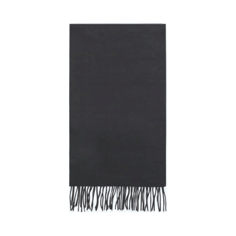 Failsworth Lambswool scarf in Black