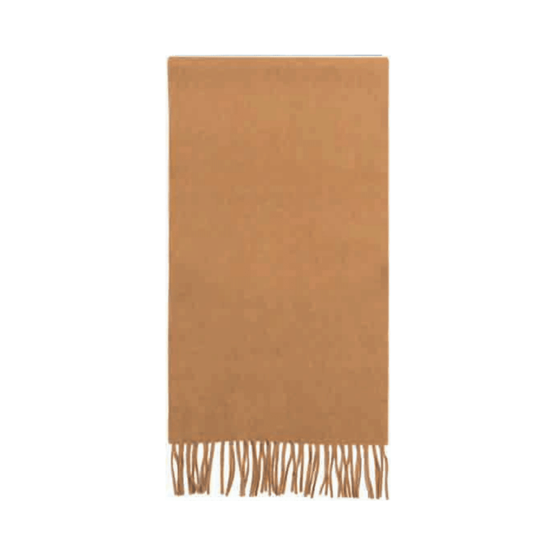 Failsworth Lamswool scarf in Camel