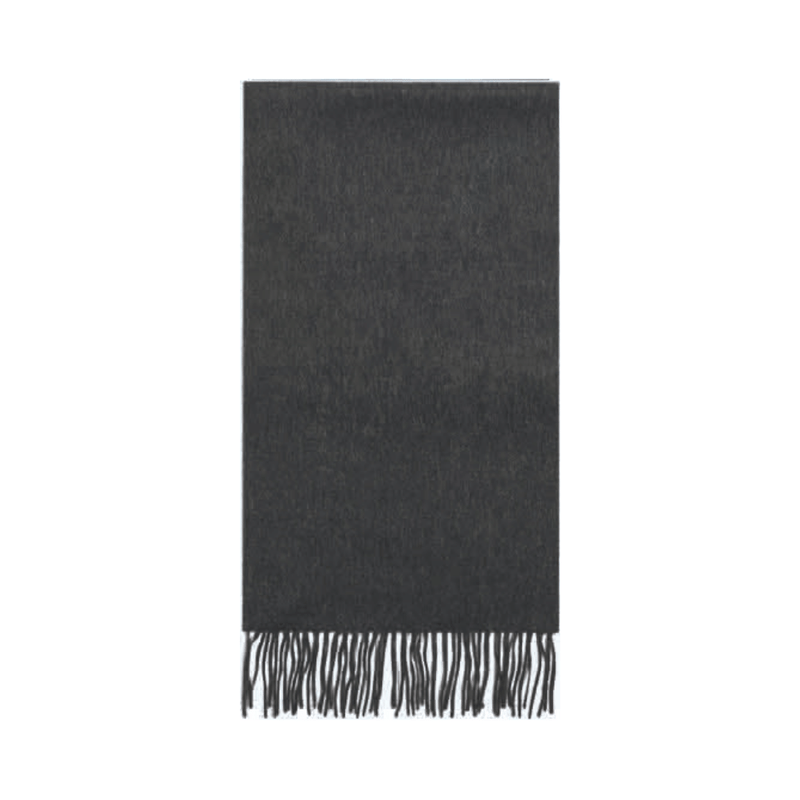 Failsworth Lambswool scarf in Charcoal