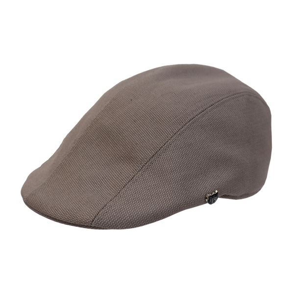 Hills Hats Denver Duckbill Cap in Grey