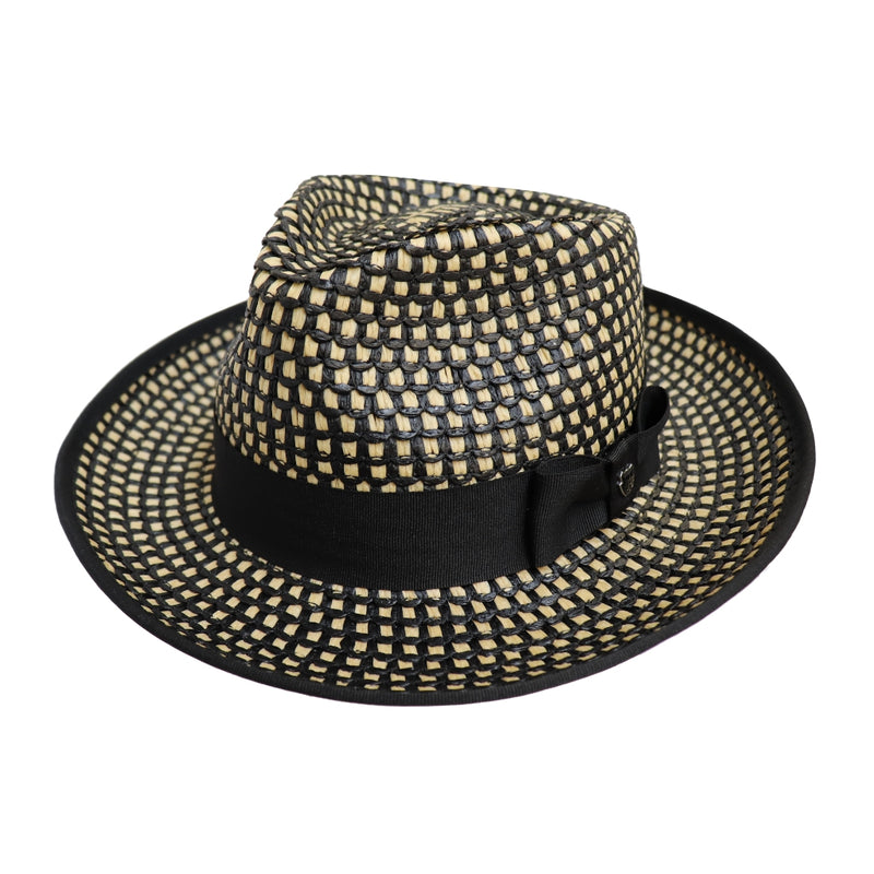 Hills Hats Mafia Fedora - Woodchip colour