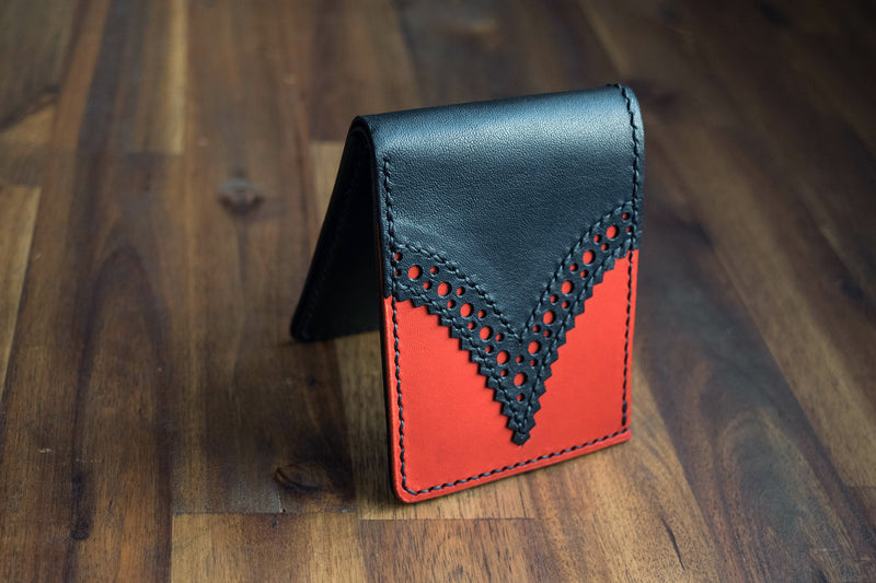 Rose Leather Underpocket Wallet - Redback Brogue