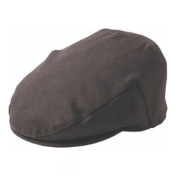 Failsworth Melton wool cap in black