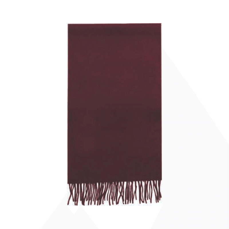 Failsworth Lambswool scarf in Wine