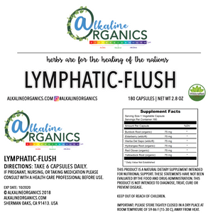 Lymphatic Flush Capsules Nutrition