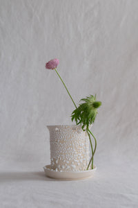 Stem Vase: Large Cobblestones