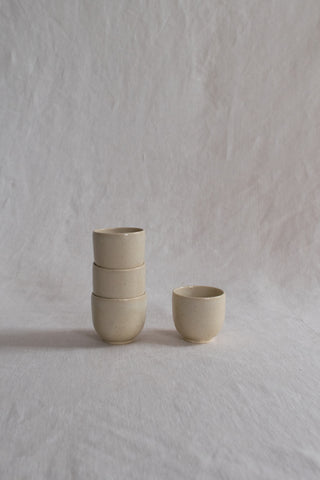 Drinking Cup: Beige