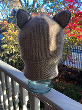 Polar Bear Hand Knit Hoody