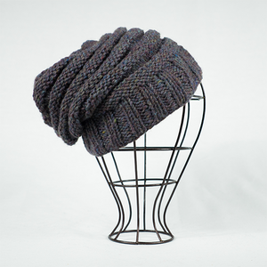 Marley Upcycle Beanie - Blue