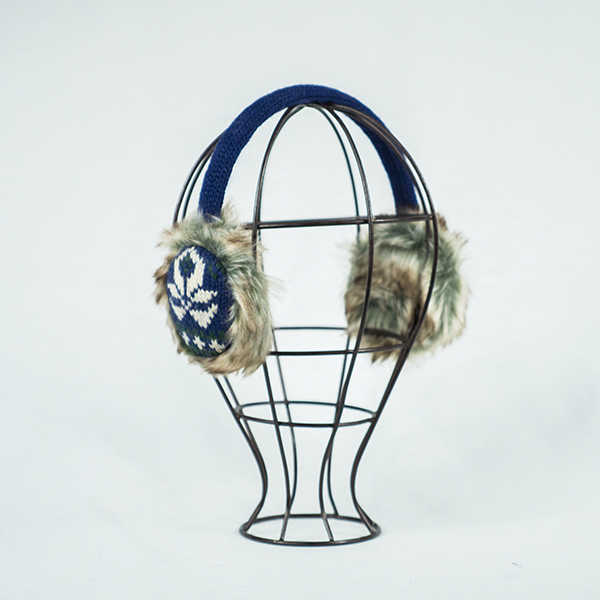 Lotus Earmuffs - Blue