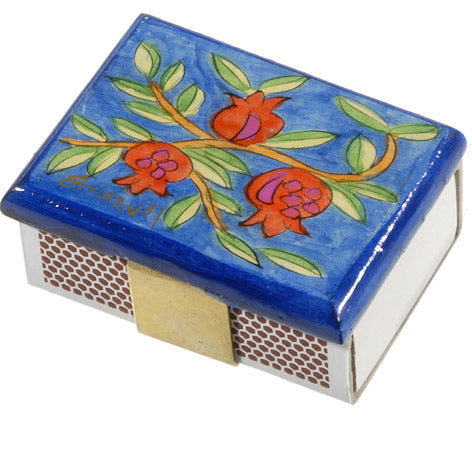 Mini Pomegranate-Vine Matchbox Cover