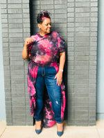 Load image into Gallery viewer, Tie Dye Open Maxi - Shirley Girl Boutique