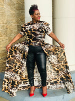 Load image into Gallery viewer, Tigress Open Maxi - Shirley Girl Boutique