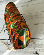 Load image into Gallery viewer, Kente  Round Clutch Handbag - Shirley Girl Boutique