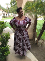 Load image into Gallery viewer, Frankie African Print Maxi Dress - Shirley Girl Boutique