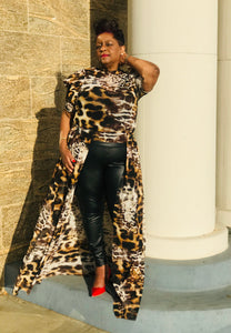 Tigress Open Maxi - Shirley Girl Boutique