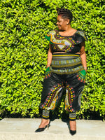 Load image into Gallery viewer, The Goddess Harem Pants and Crop Top - Shirley Girl Boutique