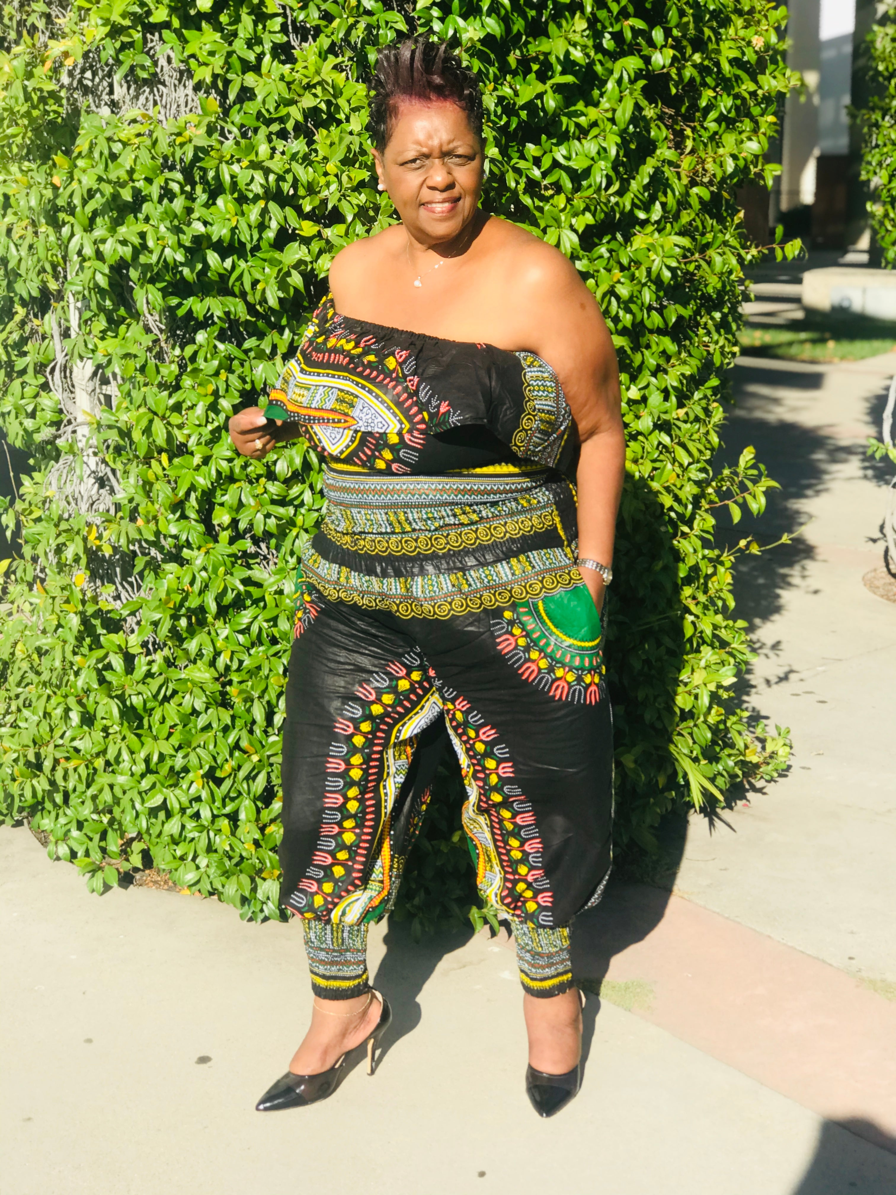 The Goddess Harem Pants and Crop Top - Shirley Girl Boutique