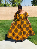 Load image into Gallery viewer, The Honeybee African Print Maxi - Shirley Girl Boutique