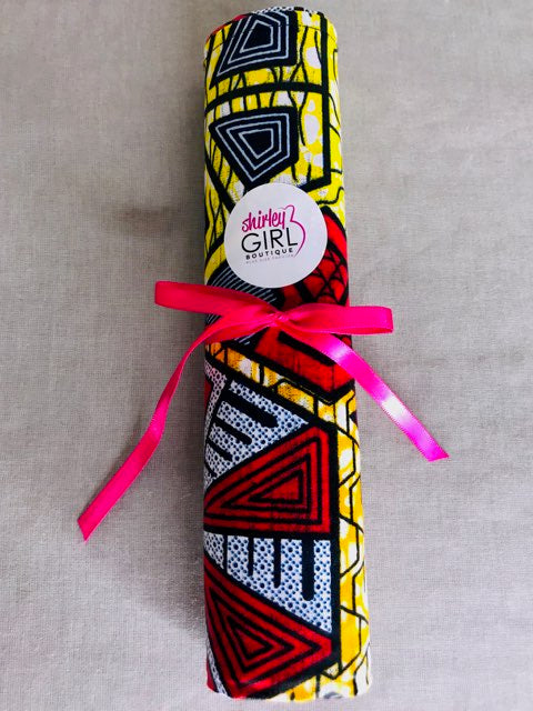 X-Large African Print Head Wraps - Shirley Girl Boutique