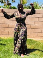 Load image into Gallery viewer, Alycia Camo Maxi With Split - Shirley Girl Boutique