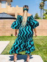 Load image into Gallery viewer, Color Block Mermaid Maxi - Shirley Girl Boutique