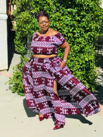 Load image into Gallery viewer, Sexy Olivia  3 Piece Maxi Skirt Set - Shirley Girl Boutique