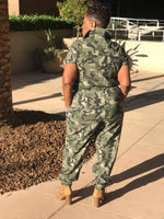 Load image into Gallery viewer, Trinity Camouflage Jumpsuit - Shirley Girl Boutique