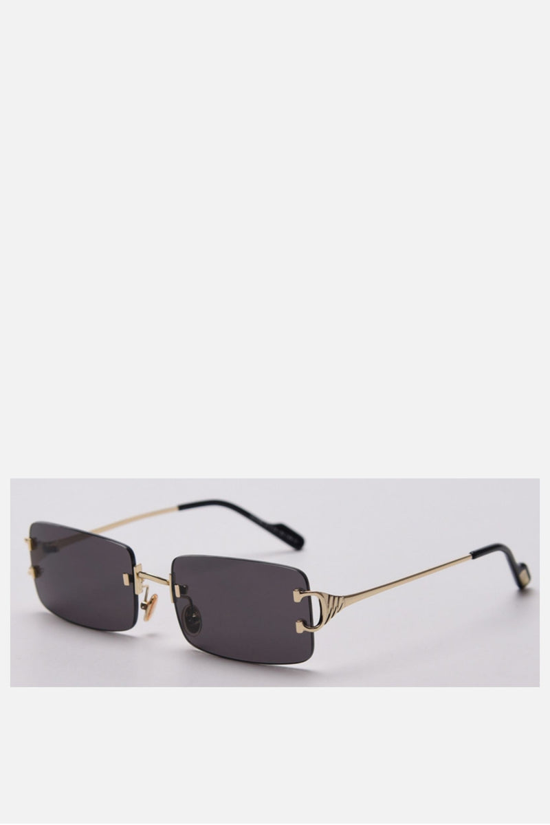 San Antonio Square Chunky Leopard Sunglasses - noughts&kisses