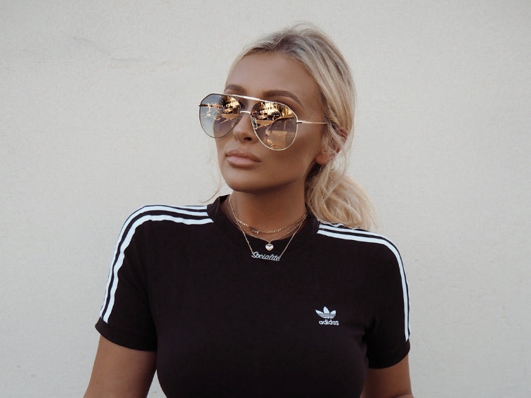 Gold Dust Aviators X Sarah Ashcroft